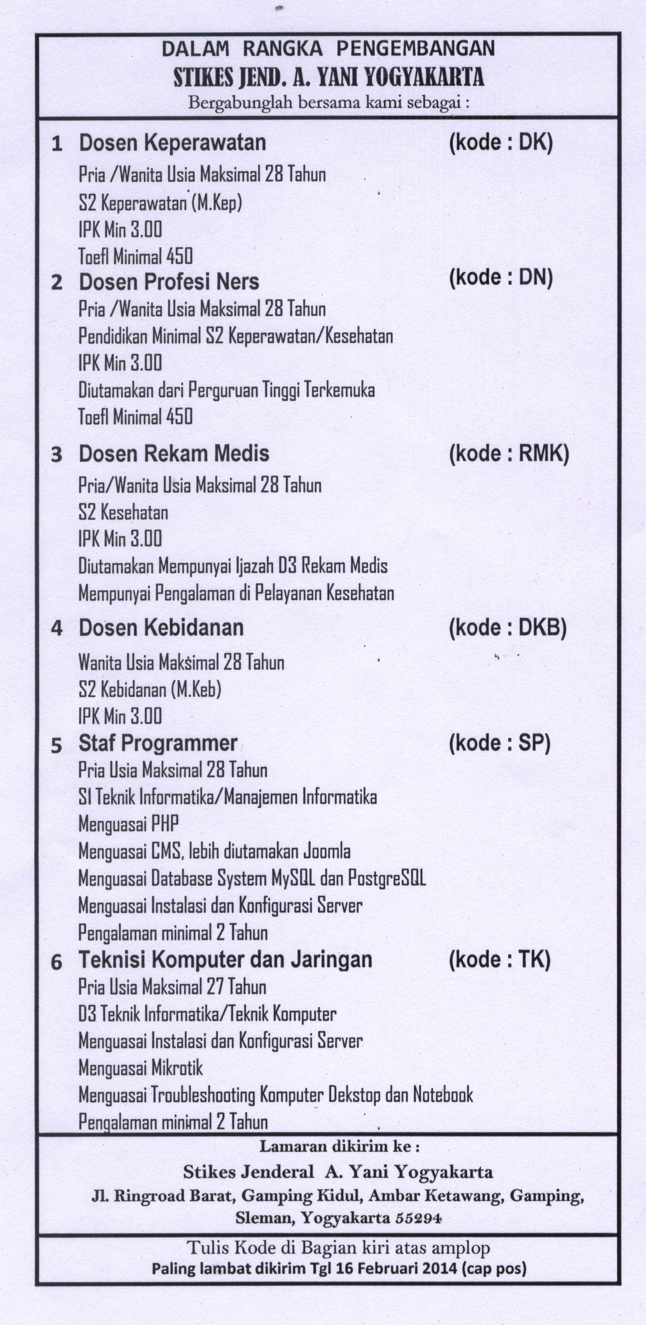 Info Lowongan Kerja Di Bandung Informasi Lowongan Kerja ...